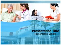 Hospital Services Template PowerPoint