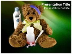 Kids Medicine PowerPoint Background