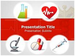 Medical Sign PowerPoint Background