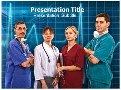 Medical Team Template PowerPoint