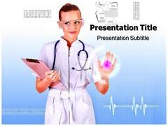 Nursing Research PowerPoint Backgrounds