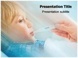 Fever Treatment PowerPoint Background