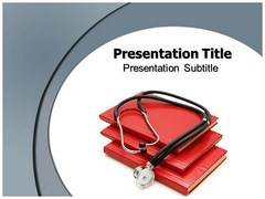Electronic Stethoscope PowerPoint Theme