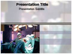 Heart Surgery Template PowerPoint