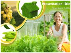 Green House PowerPoint Backgrounds