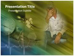 Hypertension Symptoms Templates PowerPoint, Hypertension Symptoms Background Templates For PowerPoint