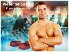Men Workout PowerPoint Background