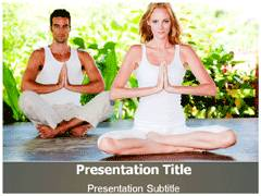 Yoga Poses PowerPoint Background