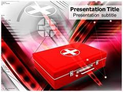 First Aid Box Template PowerPoint