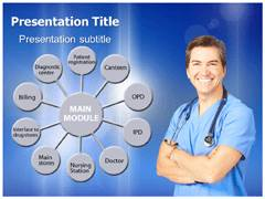 Hospital Management PowerPoint Slides