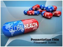 Drug Capsule PowerPoint Backgrounds