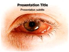 Eye Infection PowerPoint Background