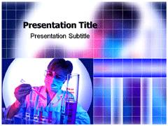 Laboratory Testing Services PowerPoint Background