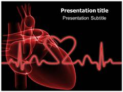Cardiac Animate Powerpoint Templates