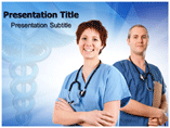 Nurse Animated PowerPoint Templates