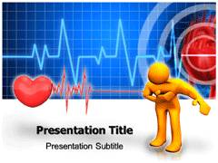Myocardial Infarction PPT Templates, Myocardial Infarction PowerPoint Slide Templates