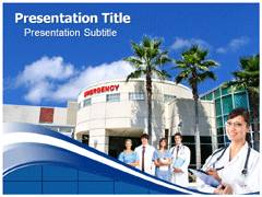 Hospital Management System Template PowerPoint