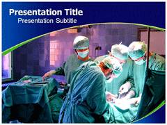 Theatre Operation PowerPoint Slides