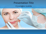 Botox PowerPoint Slide