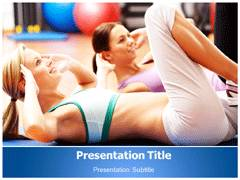 Aerobics Template PowerPoint