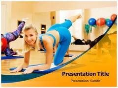 Aerobics Exercise PowerPoint Slides