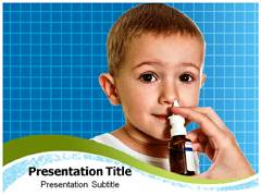 Nasal Flu Vaccine PowerPoint Themes