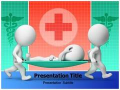 Ambulance Stretcher Template PowerPoint