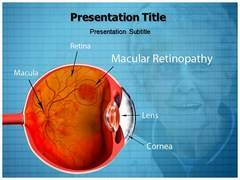 Macular Retinopathy PowerPoint Background