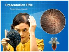 Body Lice PowerPoint Backgrounds