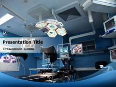 Surgery Room PowerPoint Background