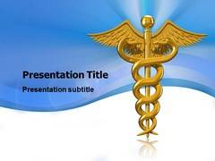 Caduceus Template PowerPoint