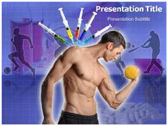 Doping Template PowerPoint