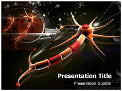 Active receptor powerpoint template powerpoint slide background neuron model powerpoint design toneelgroepblik Image collections