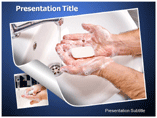 Hand Wash PowerPoint Background