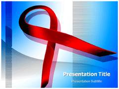 HIV Symbol Template PowerPoint