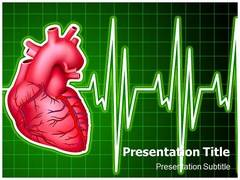 Cardiology Diseases PowerPoint Template, Cardiology Diseases PowerPoint Slide