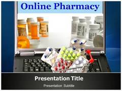 Pharmacy Online Template PowerPoint