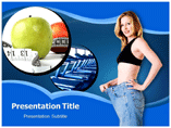 Dieting Template PowerPoint