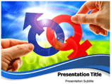 Male and Female PowerPoint Background