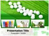 Homeopathy Products Template PowerPoint