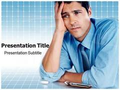 Stress Symptoms PowerPoint Background
