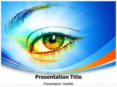 Eye Effect Template PowerPoint