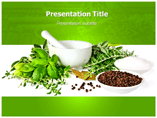 Medicinal Herbs PowerPoint Backgrounds