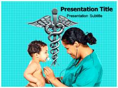 Pediatric Care Template PowerPoint