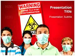 Swine Flu Symptoms PowerPoint Backgrounds