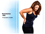 Back Pain Symptoms PowerPoint Slides