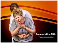 Choking Template PowerPoint