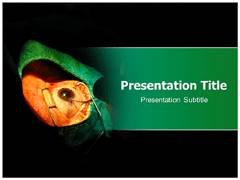 Foreign Body Eye Template PowerPoint