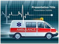 Medical Ambulance Template PowerPoint