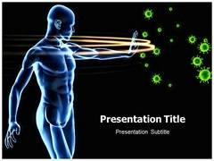 Immune Disorder Template PowerPoint